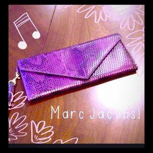 Marc Jacobs Python Reptile Wallet Wristlet